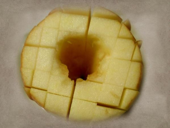 Baked bloomin' apple